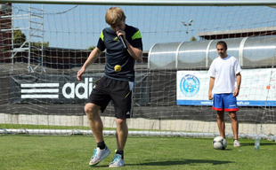 "Participation in the annual project ""Petr Cech Football School"" in Prague"