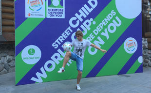 PARTICIPATION IN THE CHARITABLE ACTION STREET CHILD WORLD CUP 2018